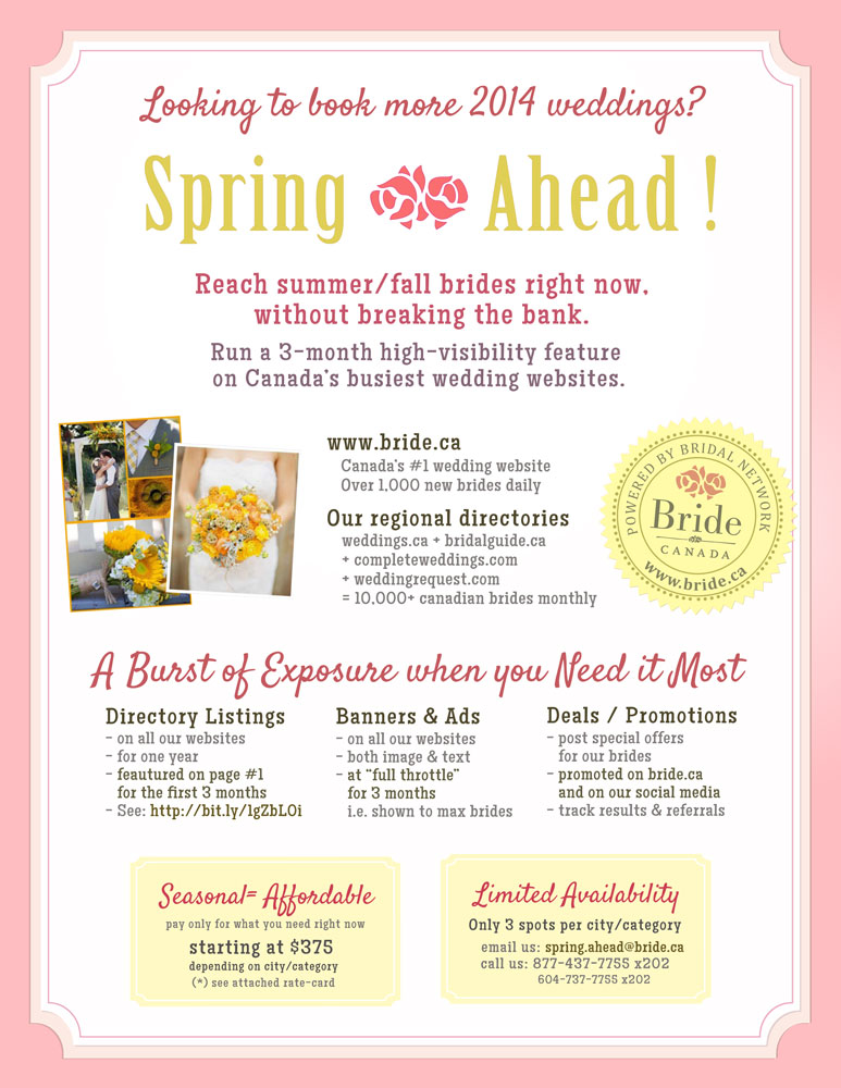 Spring Ahead 2014 : Promotional Campaign
