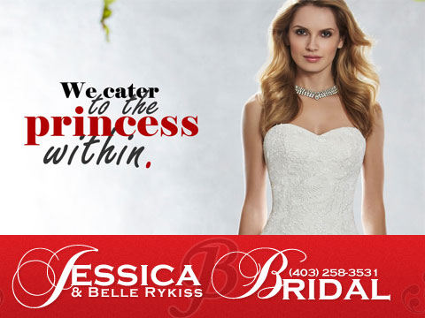 Jessica & Belle Rykiss Bridal, Calgary