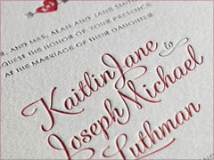 Minted : Letterpress Invitations, { eShop }