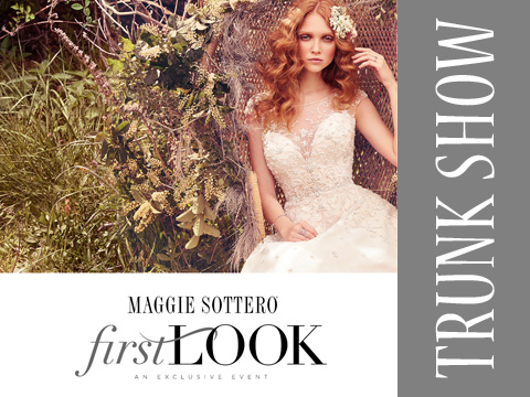 Trunk Show * Maggie Sottero Spring 2017 Collection, Barrie