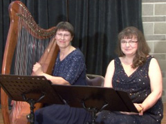 Wind on the Waves: Harp, Recorder & Lyric Mezzo-Soprano, Victoria