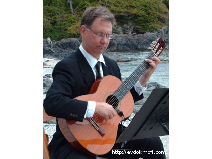 Thomas Evdokimoff ~ Classical Guitarist, Vancouver