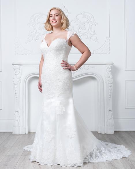 Style 8426w Wedding Dress By Romantic Bridals Curvy Bride