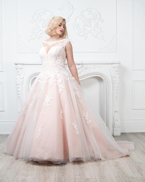 Style 8431w Wedding Dress By Romantic Bridals Curvy Bride