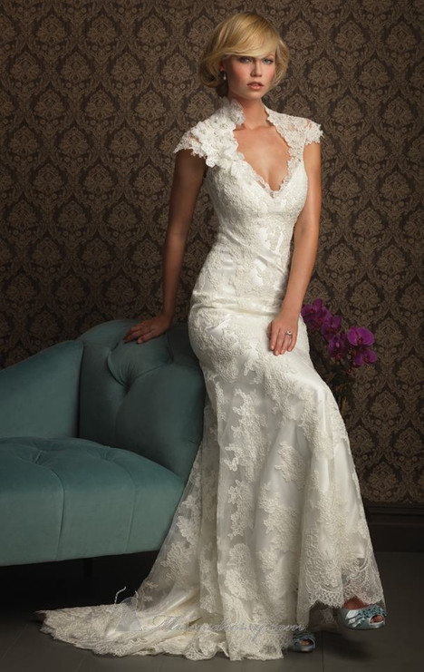 8764 gown from the 2010 Allure Bridals collection, as seen on dressfinder.ca