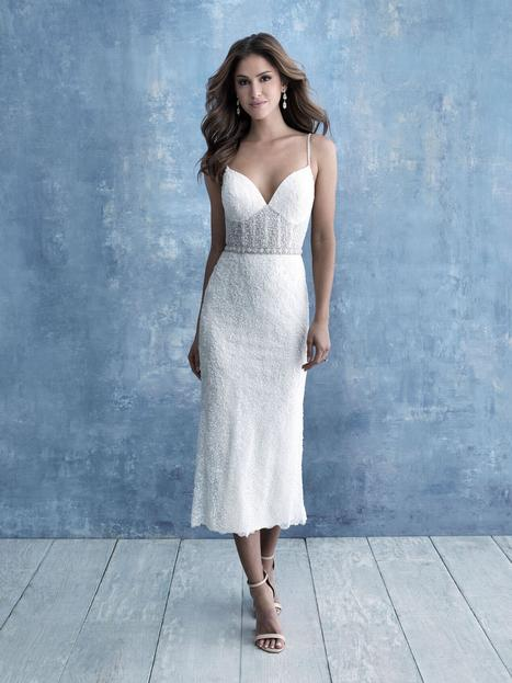#9707 gown from the 2020 Allure Bridals collection, as seen on dressfinder.ca