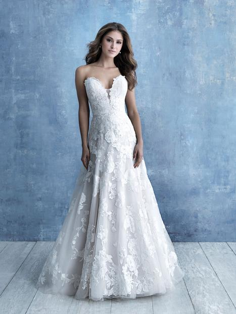 gown from the 2020 Allure Bridals collection, as seen on dressfinder.ca