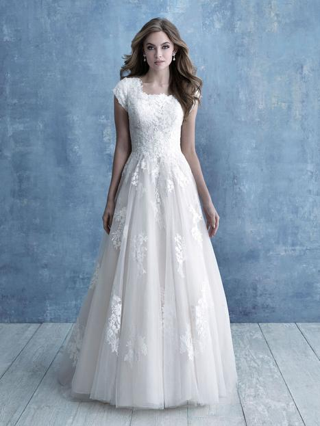 look out for outlet newest collection Style M639 Wedding Dress by Allure Modest | The Dressfinder ...