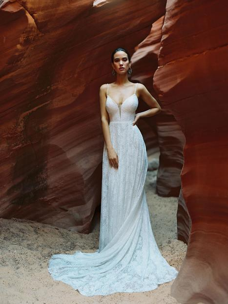 Clara (#F182) gown from the 2020 Wilderly Bride collection, as seen on dressfinder.ca