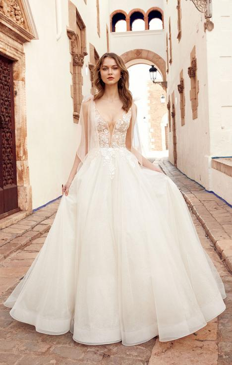 Mariah (#E101) gown from the 2020 Abella collection, as seen on dressfinder.ca