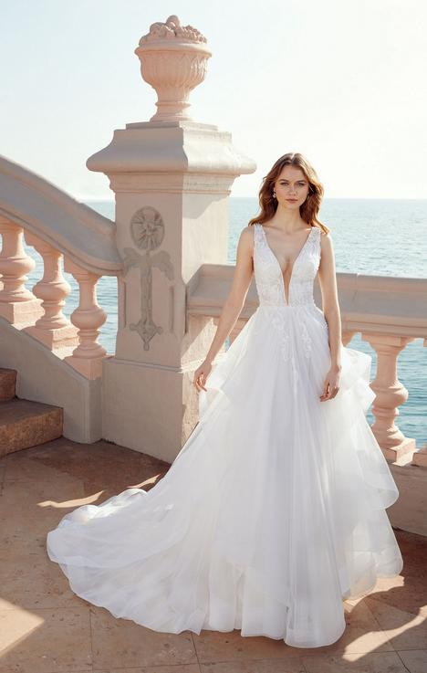 Louise (#E121) gown from the 2020 Abella collection, as seen on dressfinder.ca