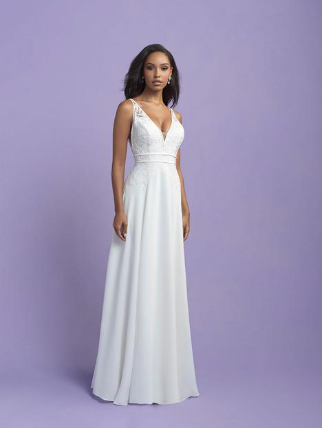 #3407 gown from the 2021 Allure Romance collection, as seen on dressfinder.ca