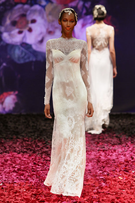 Adeline gown from the 2014 Claire Pettibone : Romantique collection, as seen on dressfinder.ca