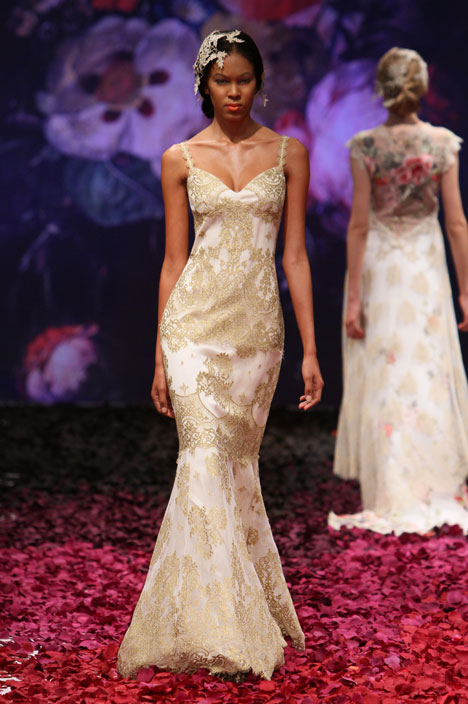 Alchemy gown from the 2014 Claire Pettibone : Romantique collection, as seen on dressfinder.ca