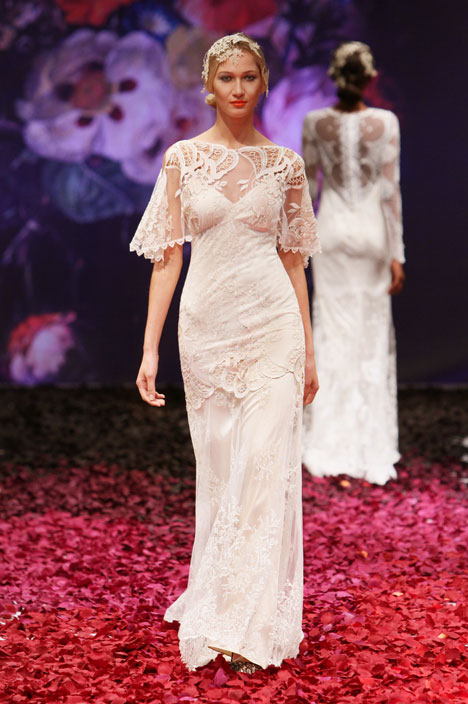 Amaryllis gown from the 2014 Claire Pettibone : Romantique collection, as seen on dressfinder.ca