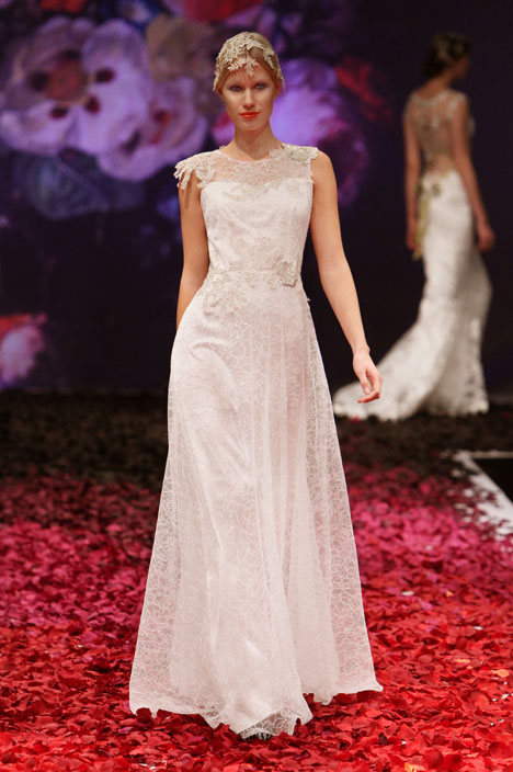 Gossamer gown from the 2014 Claire Pettibone : Romantique collection, as seen on dressfinder.ca