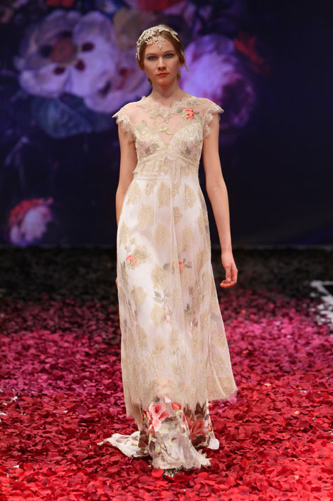Heart's Desire gown from the 2014 Claire Pettibone : Romantique collection, as seen on dressfinder.ca