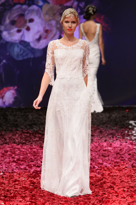 Julia gown from the 2014 Claire Pettibone : Romantique collection, as seen on dressfinder.ca