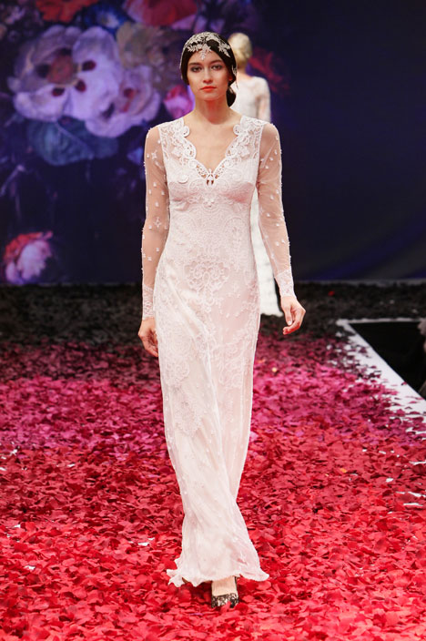 Lily gown from the 2014 Claire Pettibone : Romantique collection, as seen on dressfinder.ca
