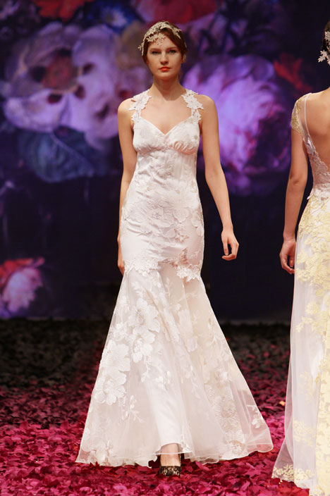 Mariposa gown from the 2014 Claire Pettibone : Romantique collection, as seen on dressfinder.ca