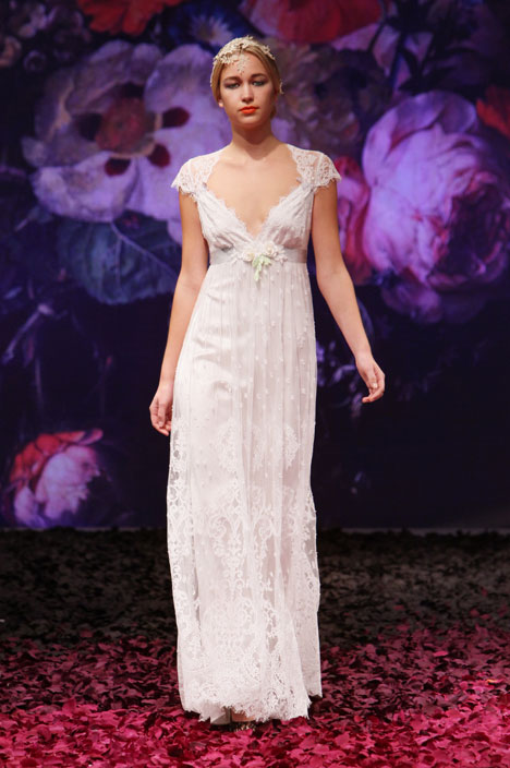 Minuet gown from the 2014 Claire Pettibone : Romantique collection, as seen on dressfinder.ca