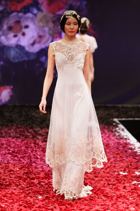 Sonata gown from the 2014 Claire Pettibone : Romantique collection, as seen on dressfinder.ca
