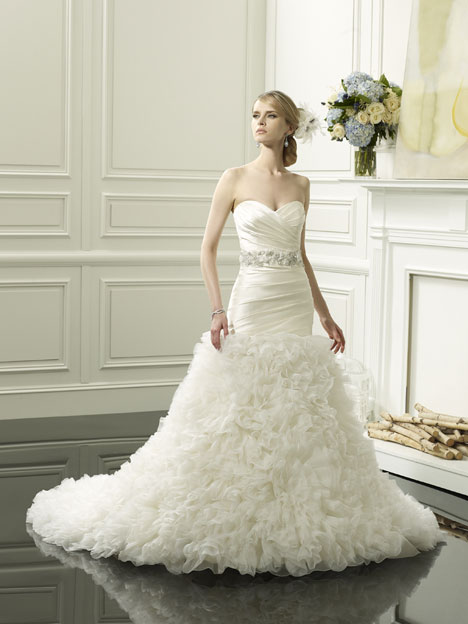 Jaylah gown from the 2014 Val Stefani collection, as seen on dressfinder.ca