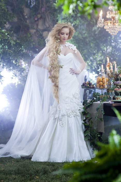 234 Rapunzel gown from the 2014 Alfred Angelo : Disney Fairy Tale Bridal collection, as seen on dressfinder.ca