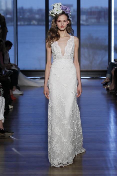 Lovette gown from the 2015 Ines Di Santo collection, as seen on dressfinder.ca