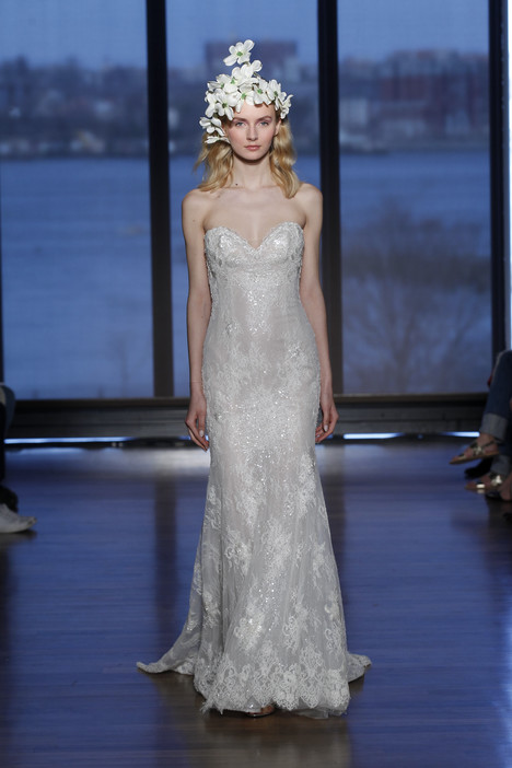 Audrina gown from the 2015 Ines Di Santo collection, as seen on dressfinder.ca