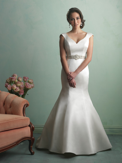 9163 gown from the 2014 Allure Bridals collection, as seen on dressfinder.ca