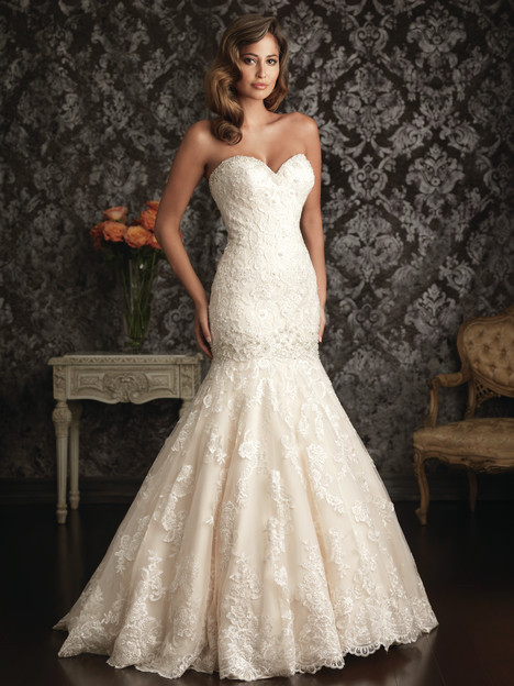 9018 gown from the 2013 Allure Bridals collection, as seen on dressfinder.ca
