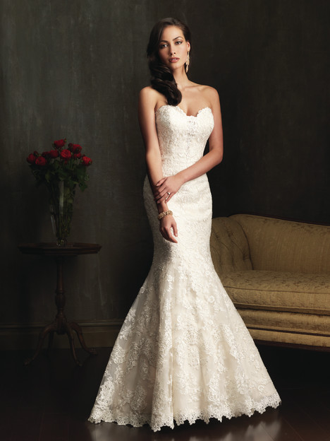 9072 gown from the 2013 Allure Bridals collection, as seen on dressfinder.ca