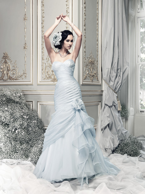 Bewitched (pale blue) Wedding Dress by