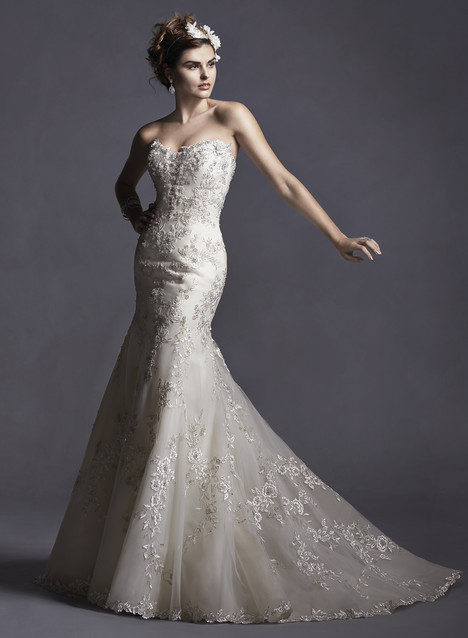 Maddalena gown from the 2015 Sottero and Midgley collection, as seen on dressfinder.ca