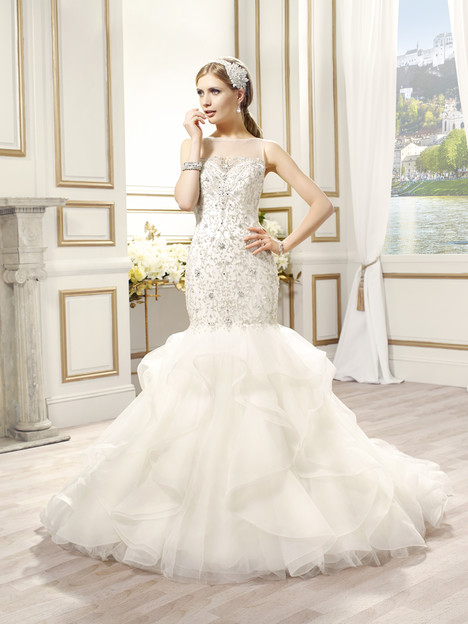 Cosima gown from the 2015 Val Stefani collection, as seen on dressfinder.ca