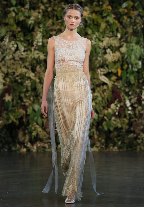 Chapelle gown from the 2015 Claire Pettibone : Romantique collection, as seen on dressfinder.ca