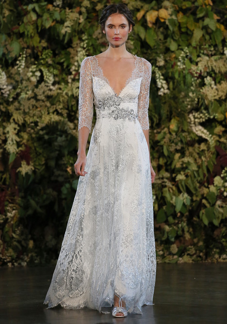 Evangeline gown from the 2015 Claire Pettibone : Romantique collection, as seen on dressfinder.ca