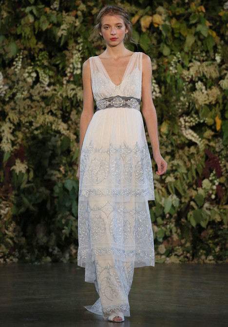 Trinity gown from the 2015 Claire Pettibone : Romantique collection, as seen on dressfinder.ca