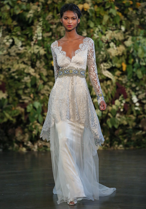 Uriel gown from the 2015 Claire Pettibone : Romantique collection, as seen on dressfinder.ca