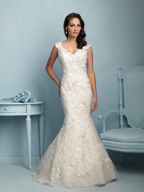 gown from the 2015 Allure Bridals collection, as seen on dressfinder.ca