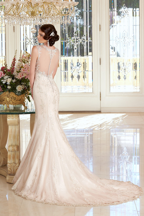 Anastasia (back) gown from the 2015 KittyChen Ivoire collection, as seen on dressfinder.ca