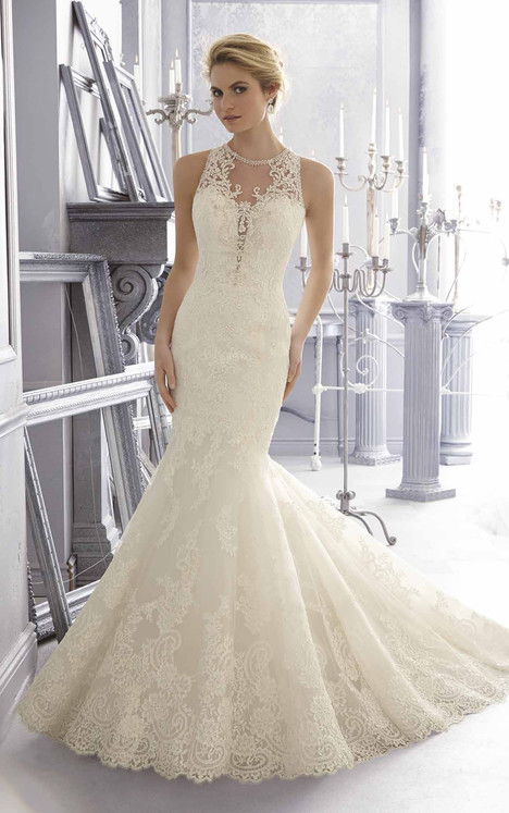 2683 gown from the 2015 Mori Lee: Bridal collection, as seen on dressfinder.ca
