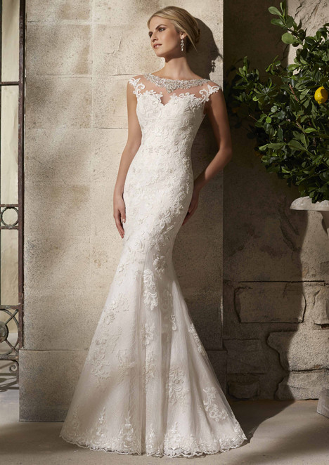 gown from the 2015 Morilee Bridal collection, as seen on dressfinder.ca