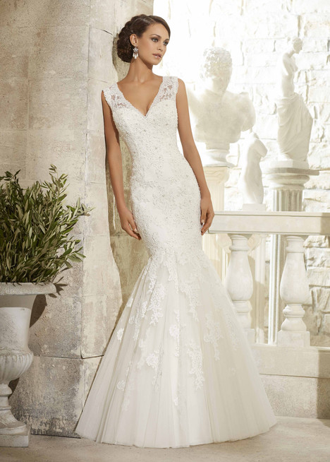 5313 gown from the 2015 Mori Lee: Blu collection, as seen on dressfinder.ca