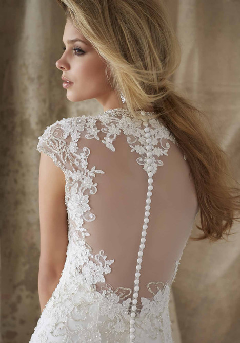 1329 (back) gown from the 2015 Mori Lee: AF Couture collection, as seen on dressfinder.ca
