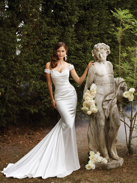 Magnolia (Y21370) gown from the 2013 Sophia Tolli collection, as seen on dressfinder.ca
