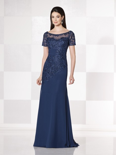 48fec0d271 114662 (navy) gown from the 2015 Cameron Blake collection, as seen on  dressfinder