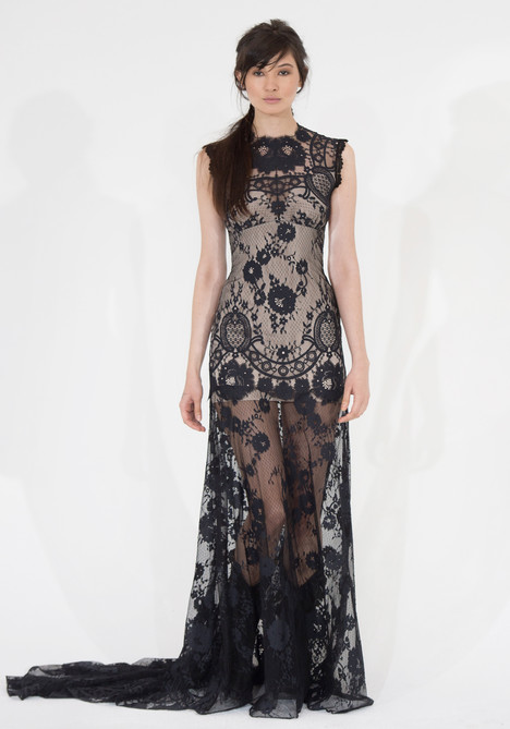 Cheyenne Black Wedding Dress By Claire Pettibone Couture