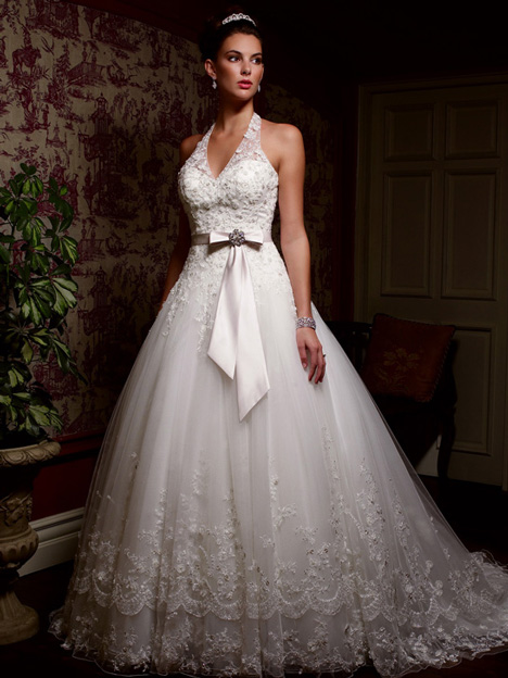 gown from the 2013 Casablanca Bridal collection, as seen on dressfinder.ca